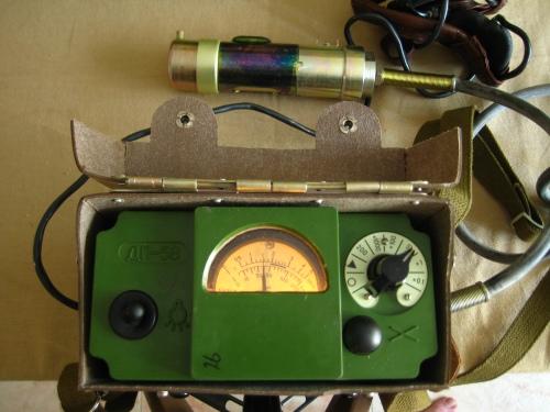 Midiendo la radiación de la muestra incorporada