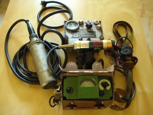 Dos generaciones de detectores soviéticos: DP-3 y DP-5V