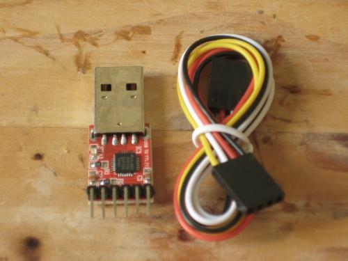 Adaptador USB - Serie CP2102