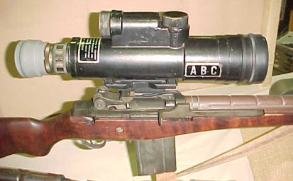 "AN/PVS-2 Night Vision Sight ""Starlight Scope"""