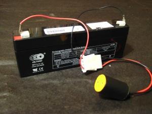 Batería recargable de 12 voltios 2.2 Ah
