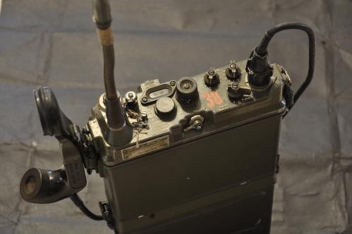Panel de control de una PRC-9.