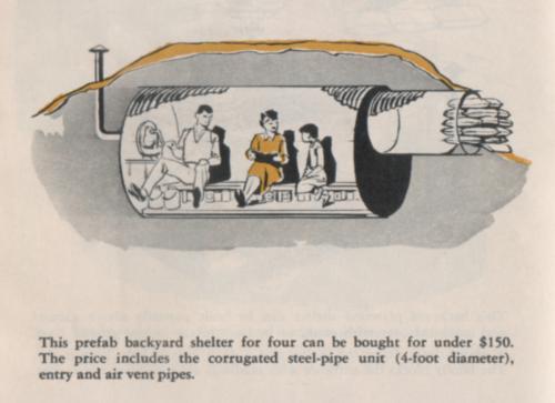 Refugio contra radiación prefabricado