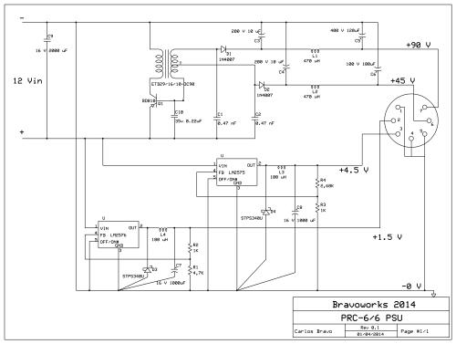 Esquema PRC-6 PSU